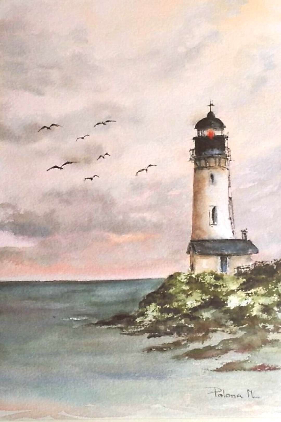 35 Simple Watercolor Landscape Painting Ideas To Try Out Artists Painting Ideas Aheyko Blog A